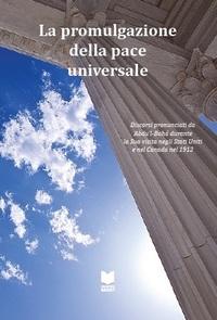 La promulgazione della pace universale