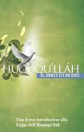 Ḥuqúqu'lláh - Il Diritto di Dio